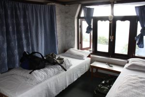 Blick in eine Wander-Lodge in Nepal/Himalaya